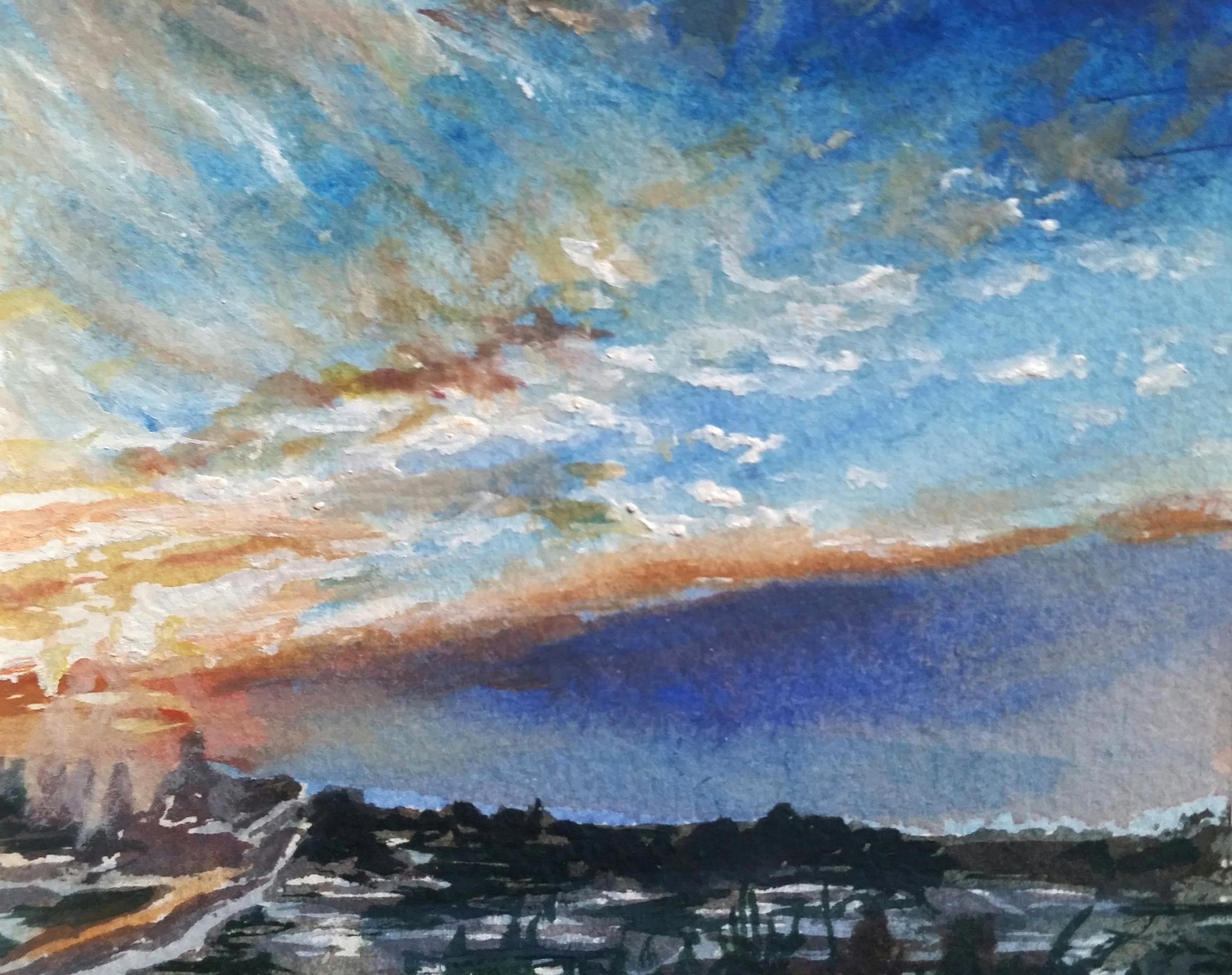 Sunrise Over Milwaukee