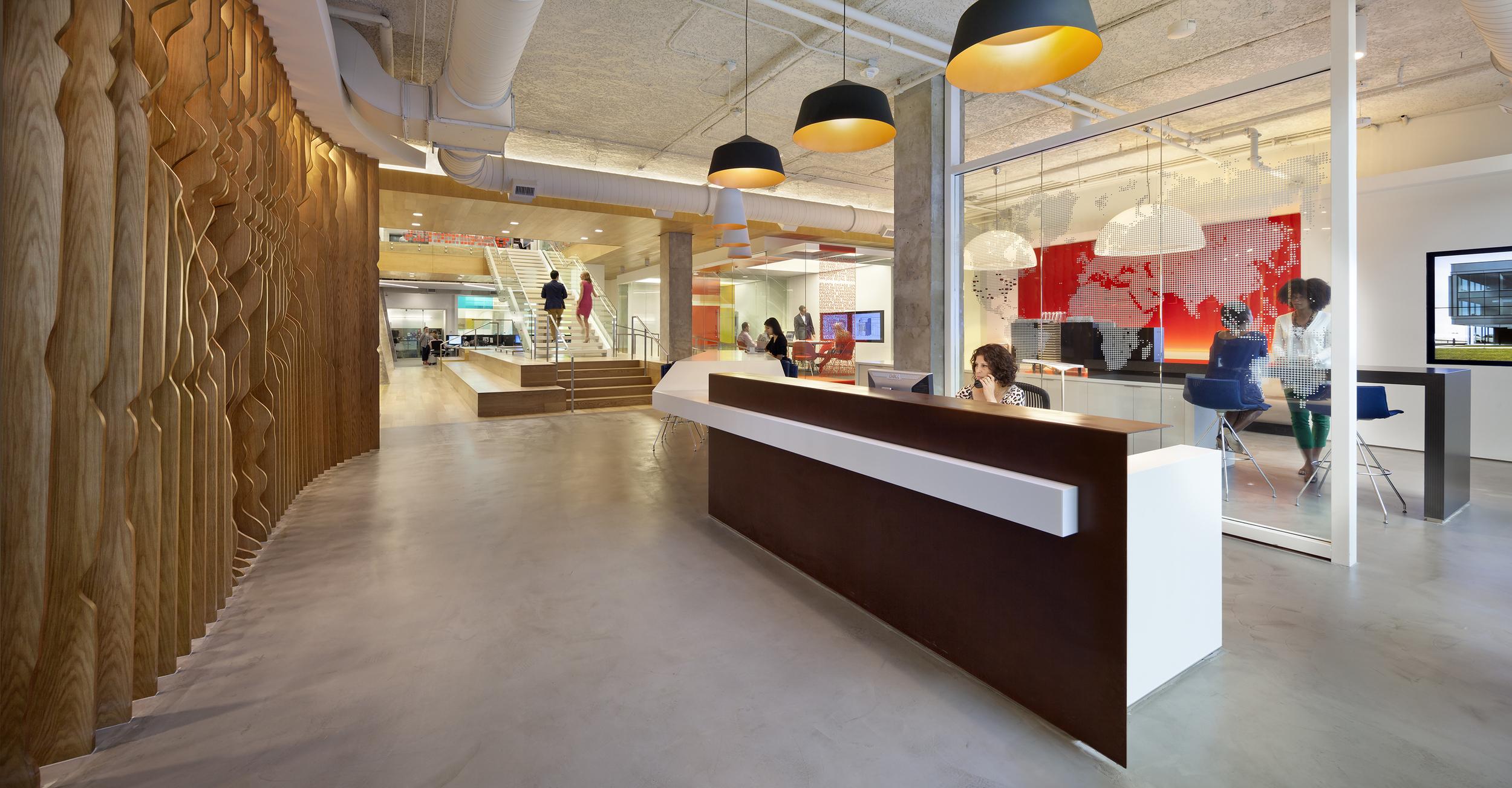 Interior Designer: Gensler  Photography: Michael Moran