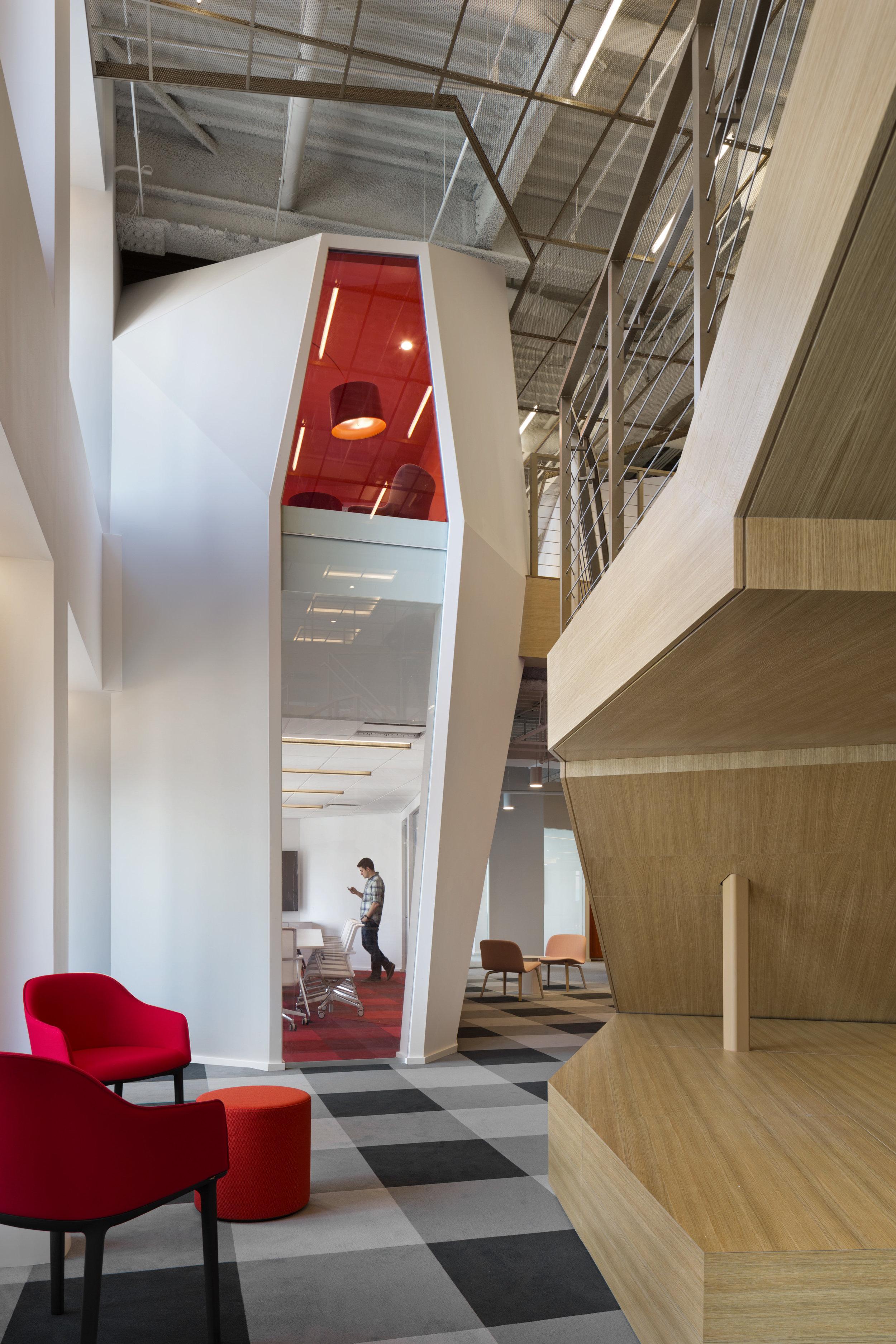 Architecture: Clive Wilkinson Architects  Photographer: Michael Moran/Otto