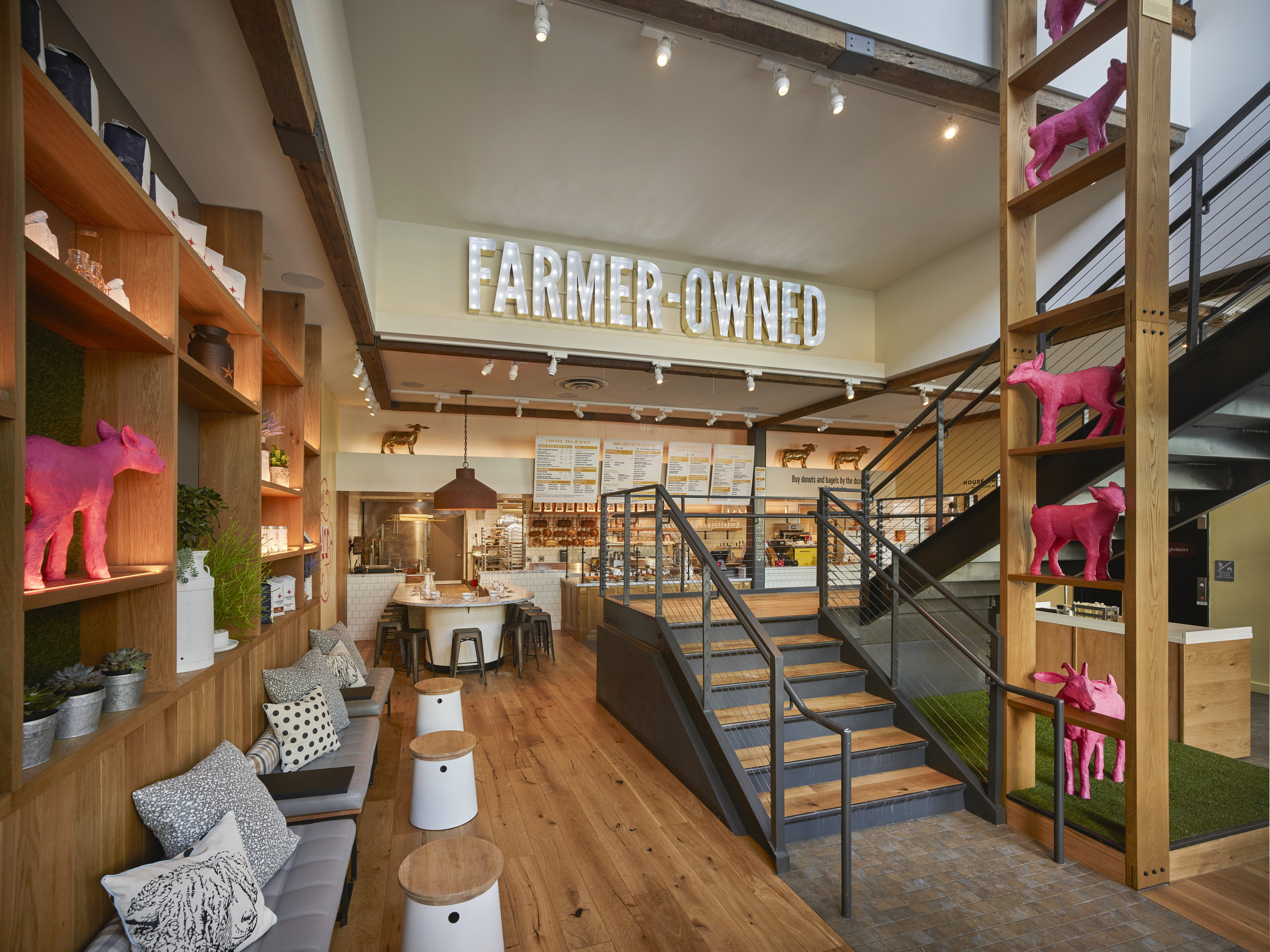 Founding Farmers King Of Prussia Lighting Work