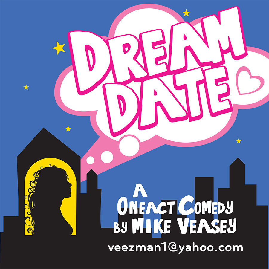 "A beautiful young woman decides to stop waiting for Mr. Right to notice her and instead pursues her ""dream date""."