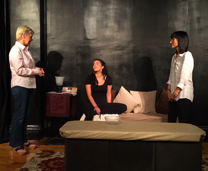 GERRY GLENNON as Susie, ERIKA YESENIA as Julie & JENNIFER PIERRO as Beth