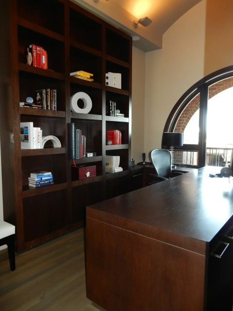 The client's office after Karen and her team reorganized and repurposed the space.