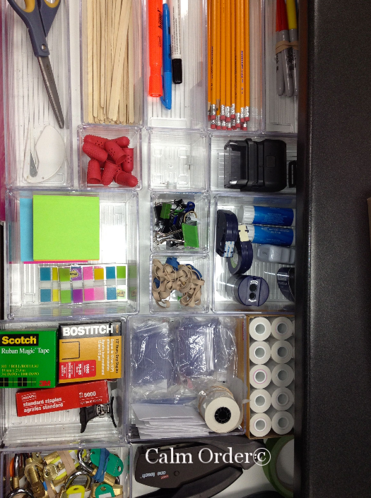 Calm Order - Drawer organization
