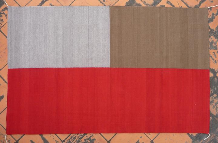 Four-color Rug (1b)