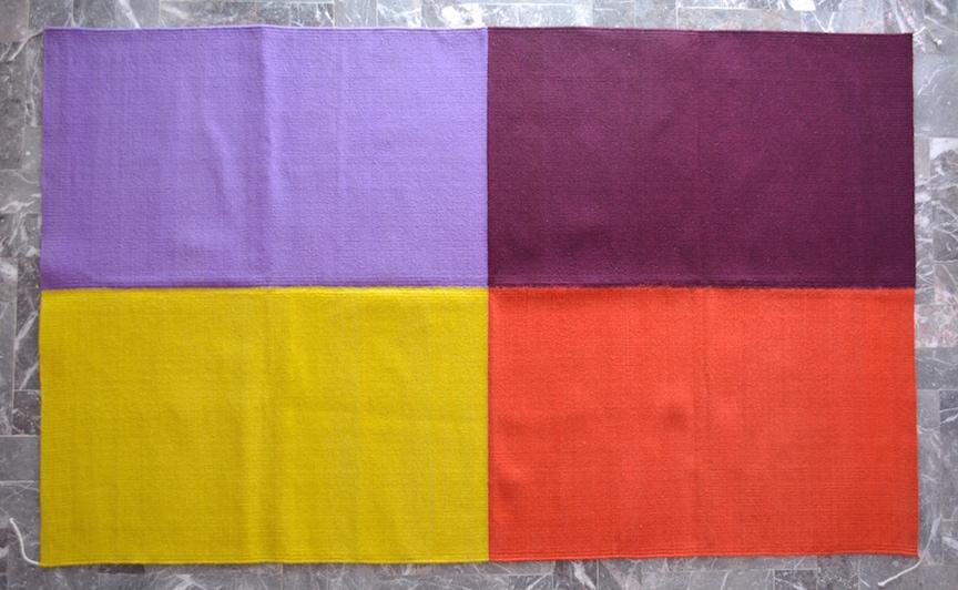 Four-color Rug (115)