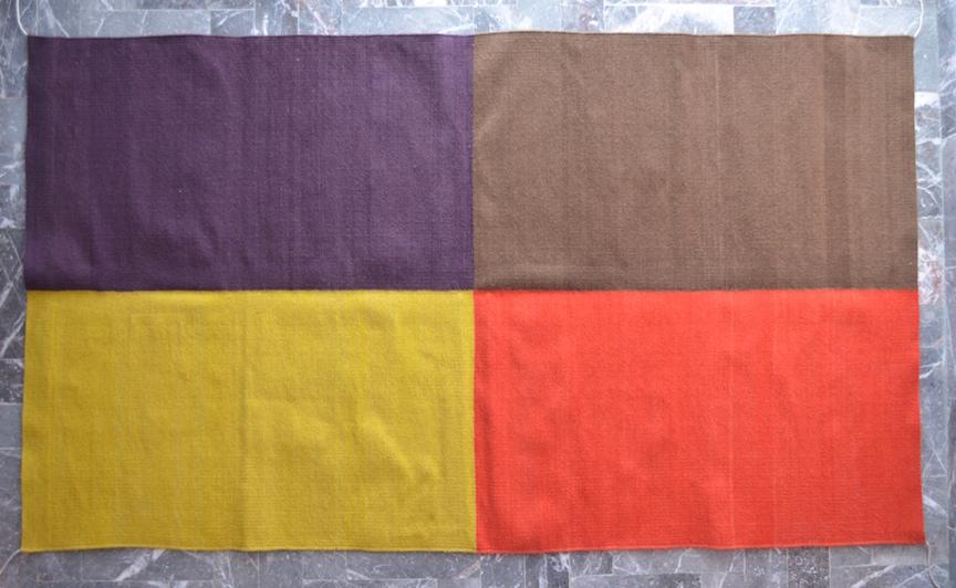 Four-color Rug (118)