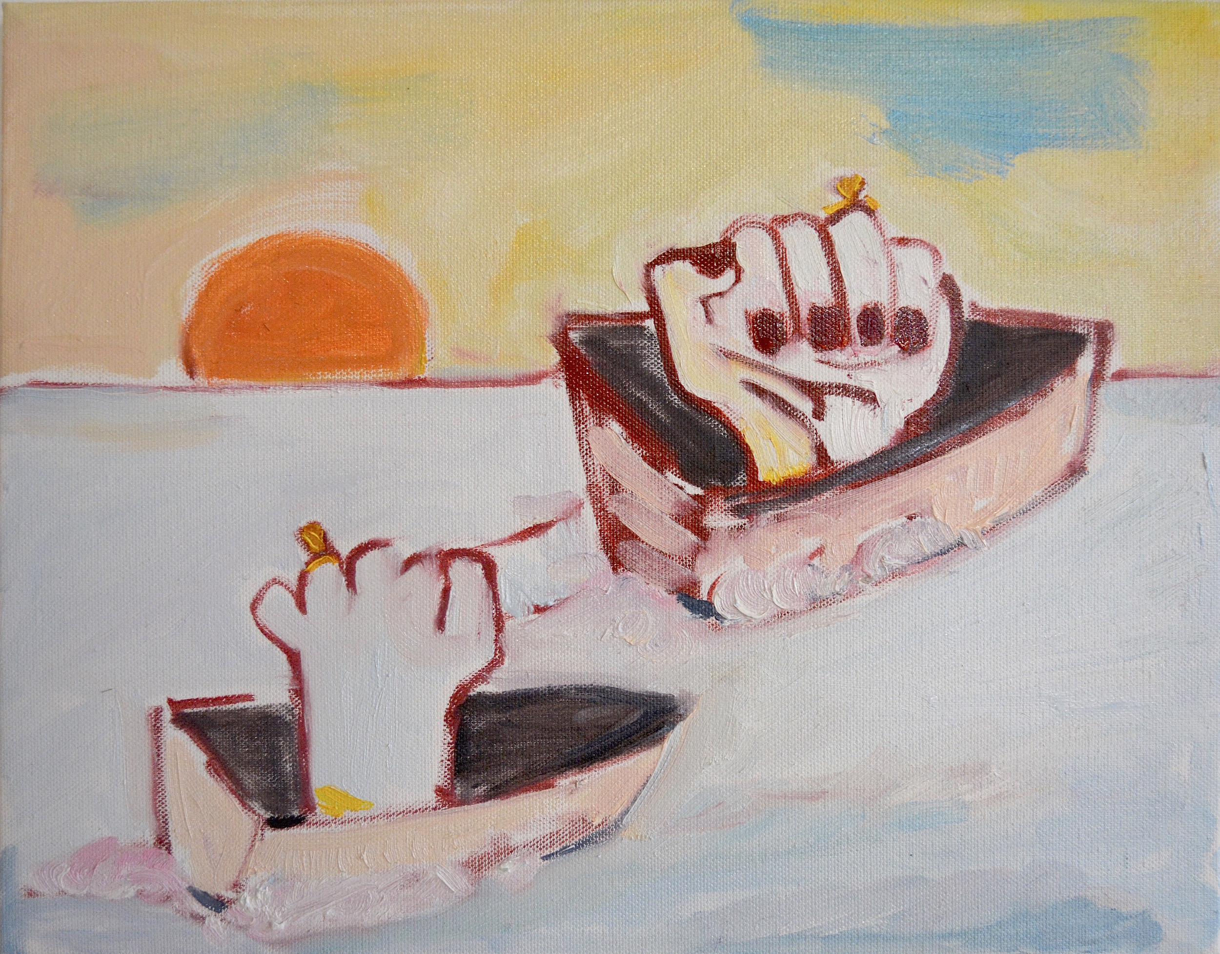 Boats and rings, 2016