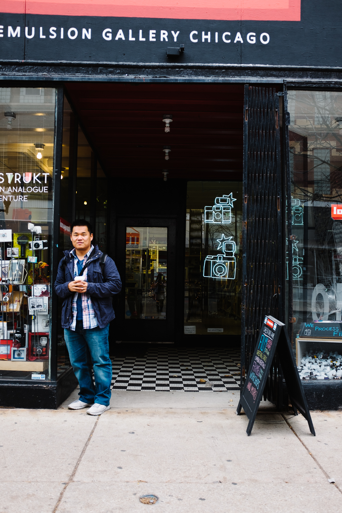 My favorite spot was the  Emulsion Gallery & Lomography Embassy Store  on Milwaukee Avenue.