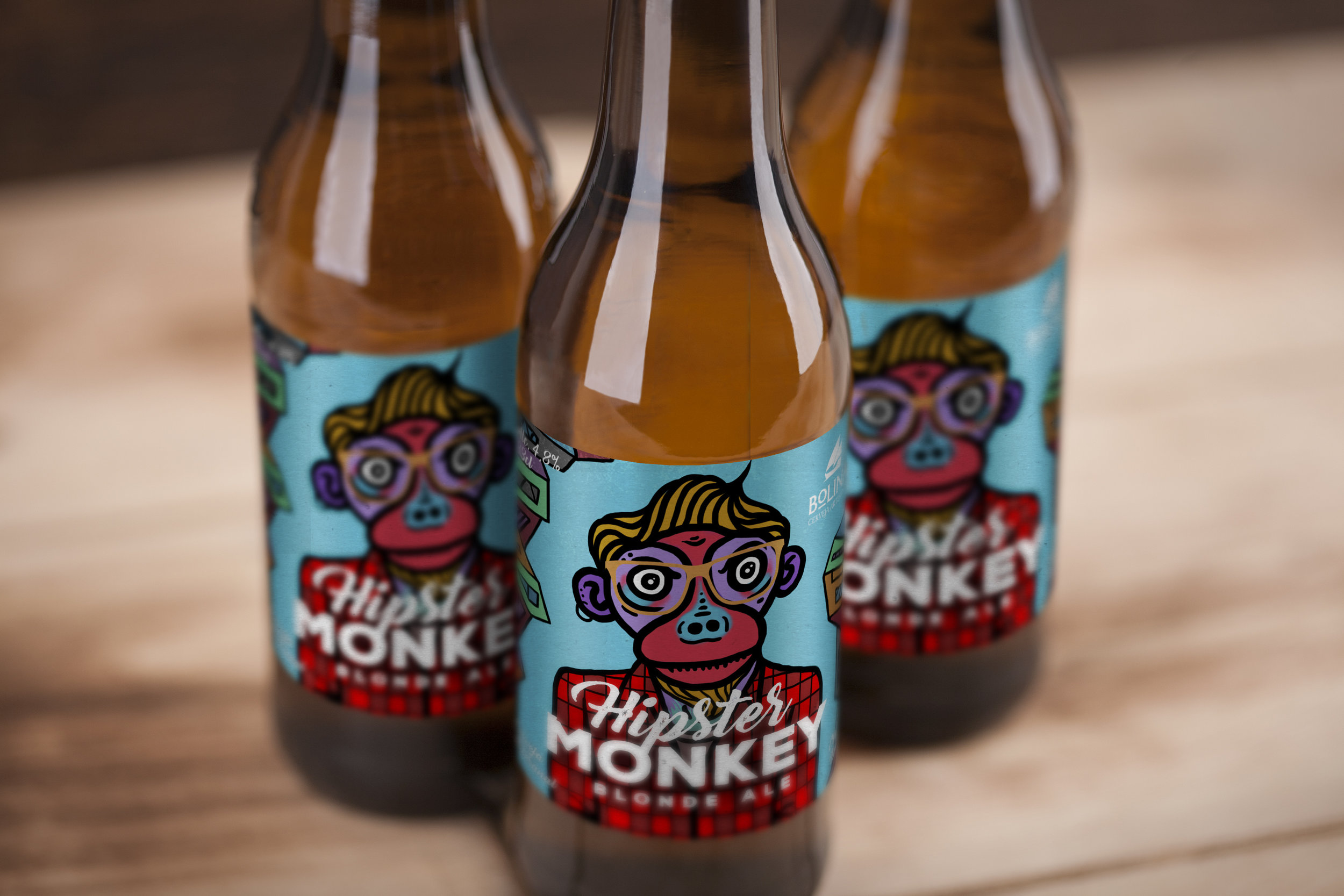 Funky Concept, Illustration and Naming for Beer Packaging Labels / World Brand & Packaging Design Society