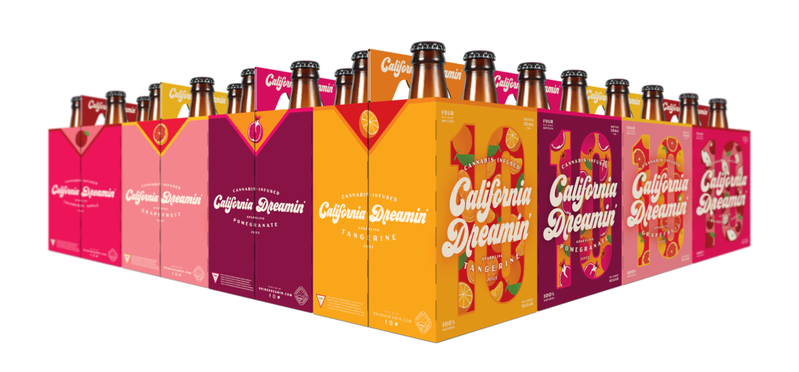 Design of Cannabis-Infused Sparkling Fruit Juices from California / World Brand & Packaging Design Society