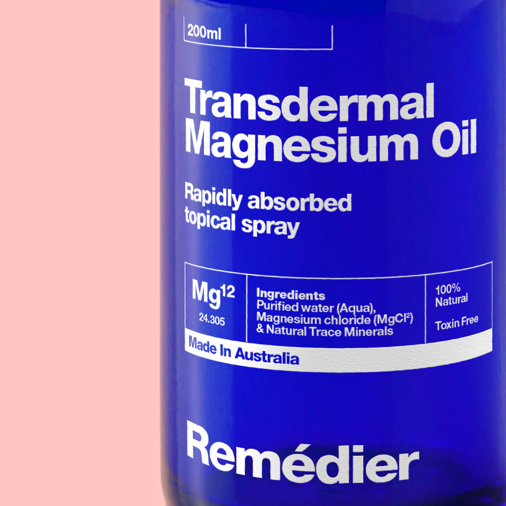 Brand Creation and Packaging Design Range for Natural Magnesium Oils / World Brand & Packaging Design Society