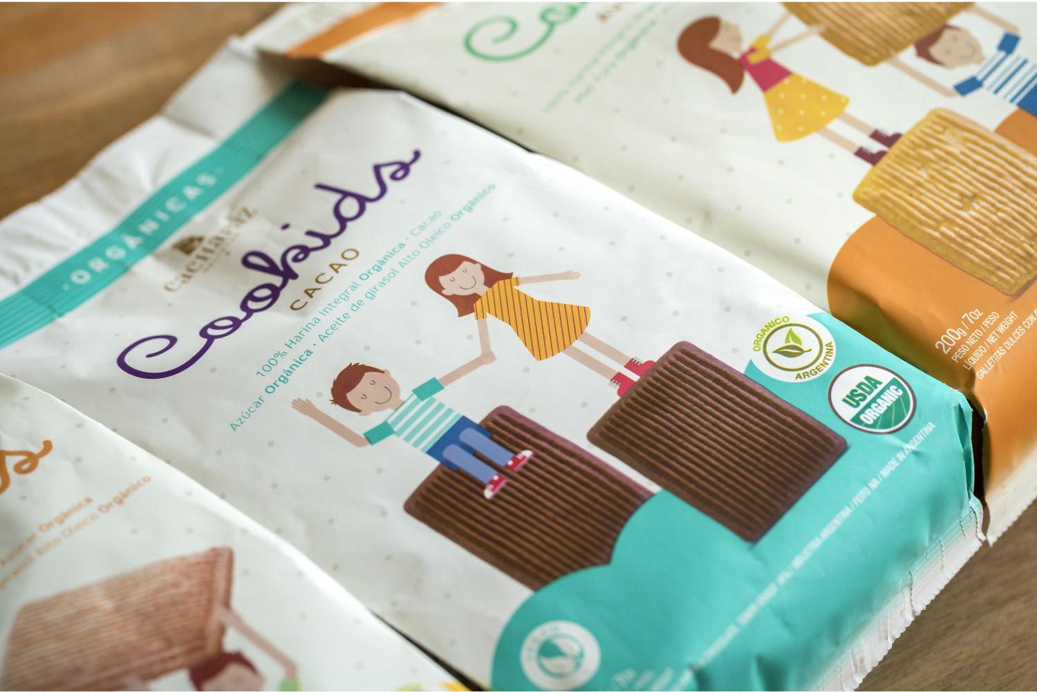 The first Organic and 100% wholewheat flour cookies in Argentina, specially thought for kids / World Brand & Packaging Design Society