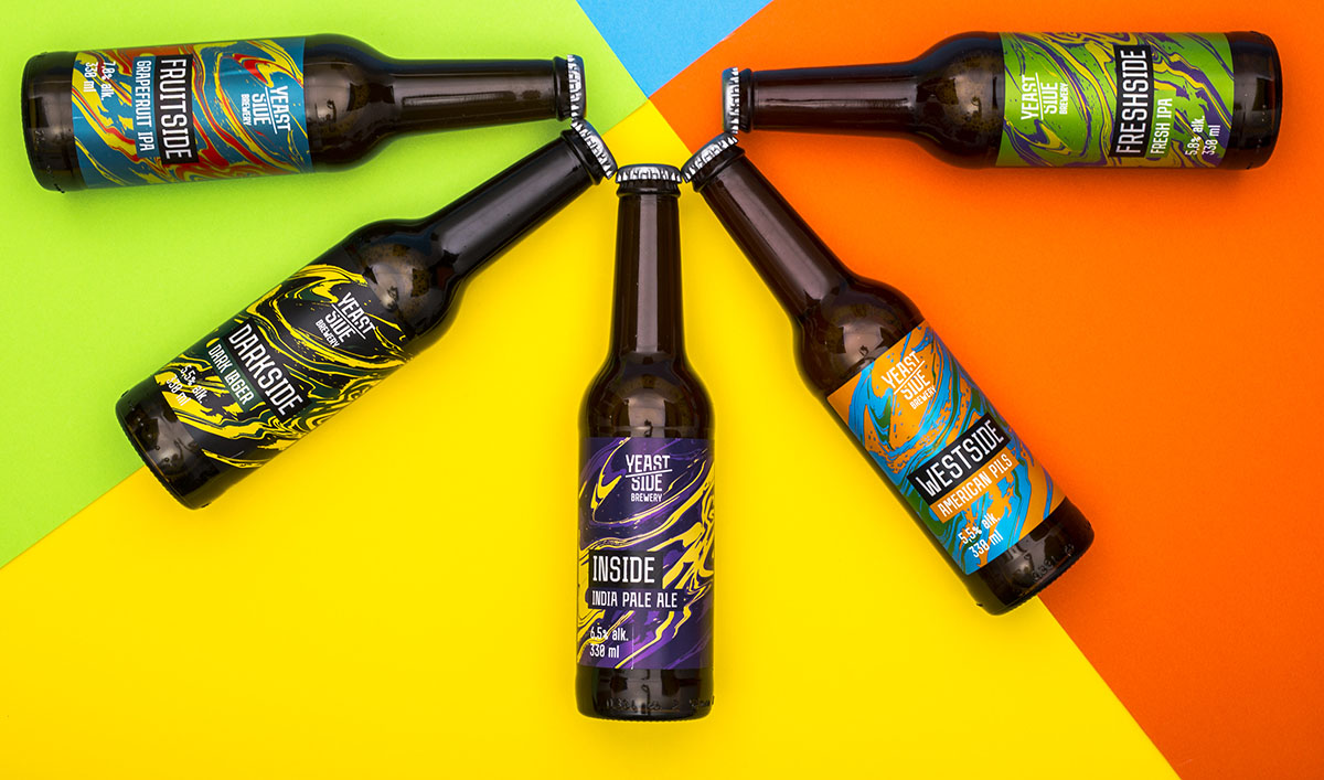 One of Hungary's Oldest Brewery Craft beer Branding and Packaging Design / World Brand & Packaging Design Society