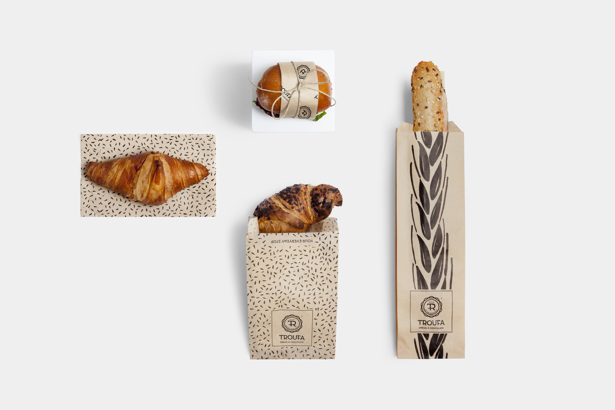Logotype and Packaging Design for Pastry and Bakery in Greece / World Brand & Packaging Design Society