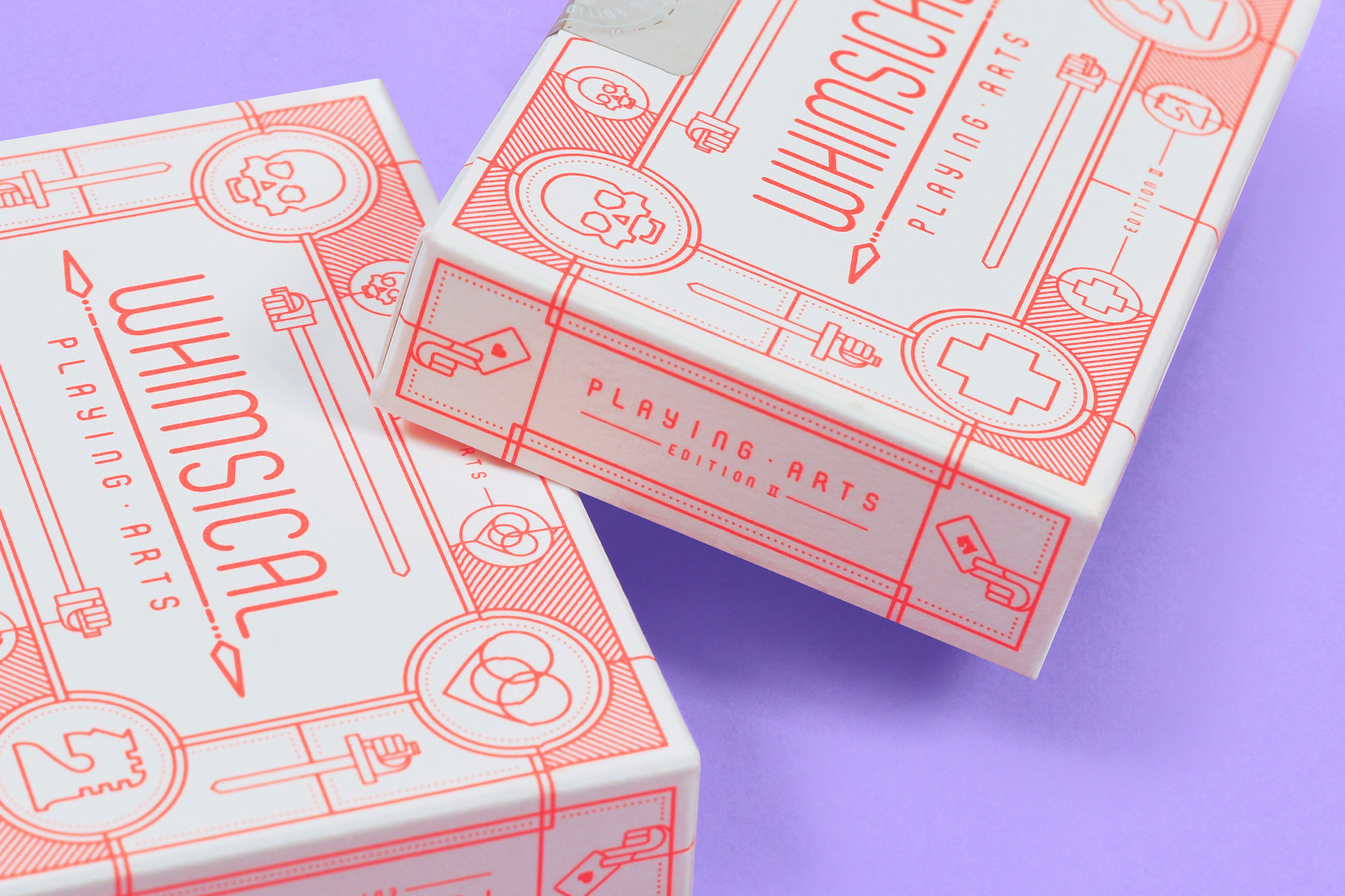 Whimsical Playing Arts with Minimalist and Eye-Catching Packaging Design / World Brand & Packaging Design Society