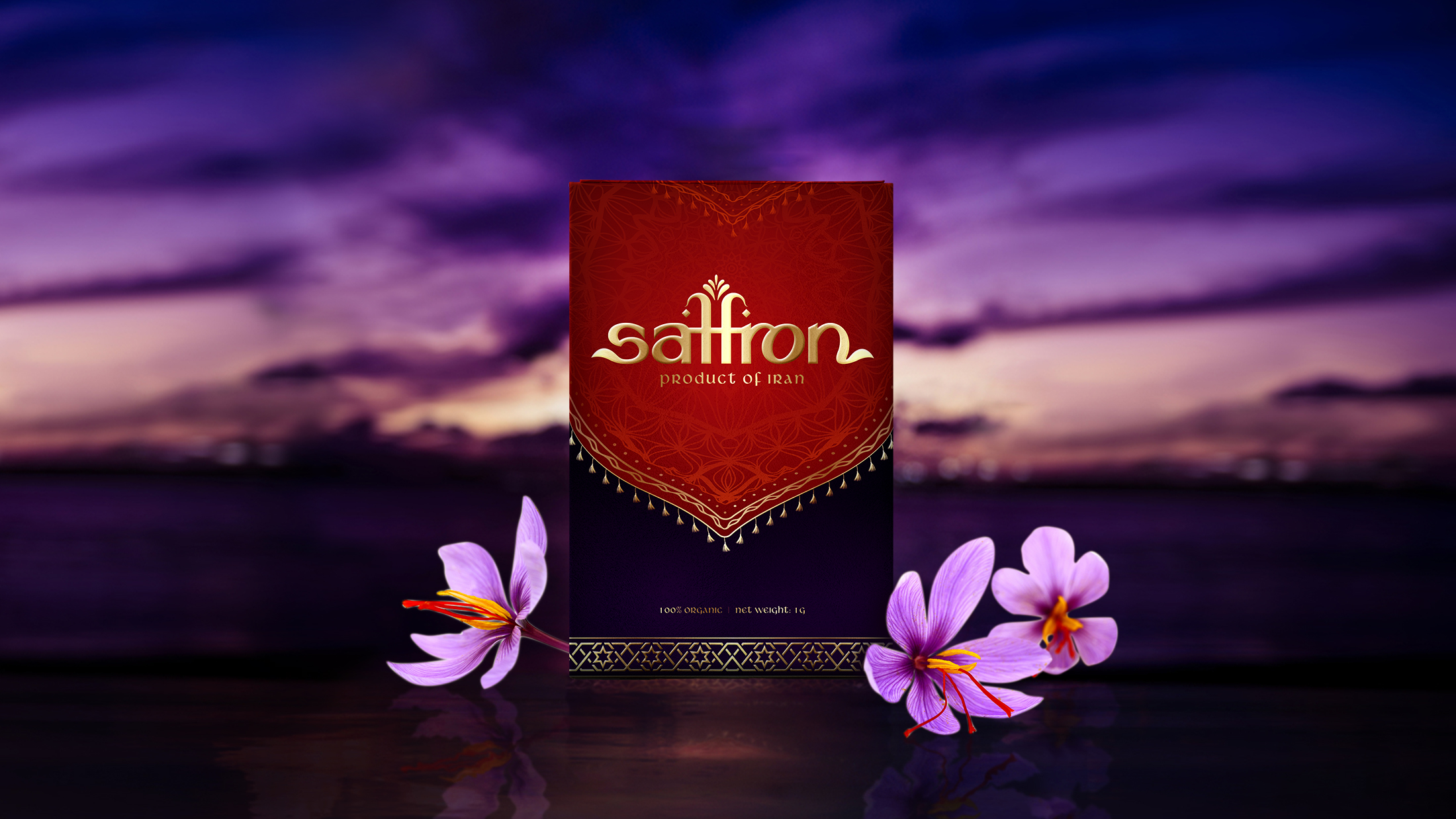New Brand Creation and Packaging Design for Saffron for the Vietnamese Market / World Brand & Packaging Design Society
