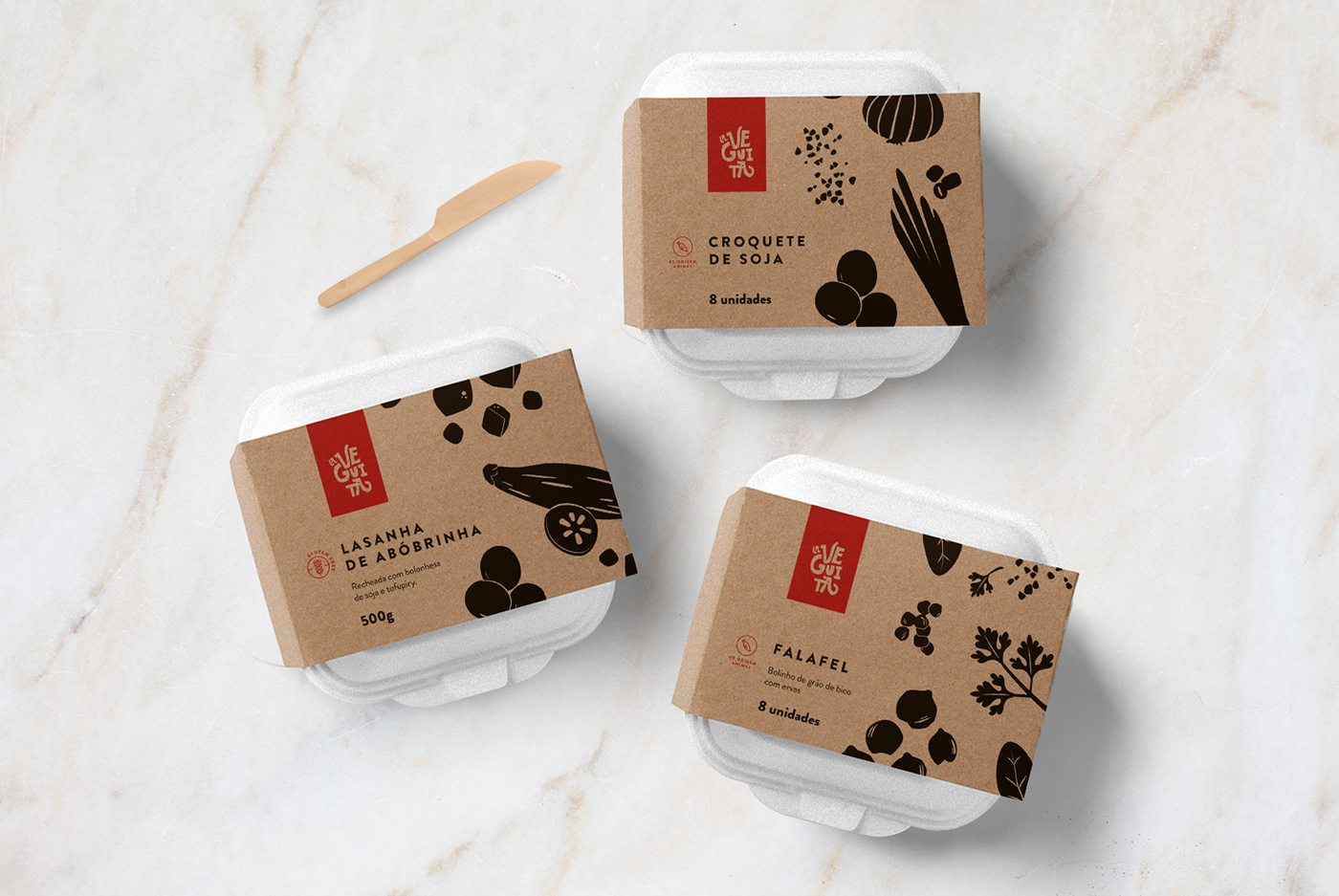 Brand and Packaging Design Creation for Brazilian Vegan Food Company / World Brand & Packaging Design