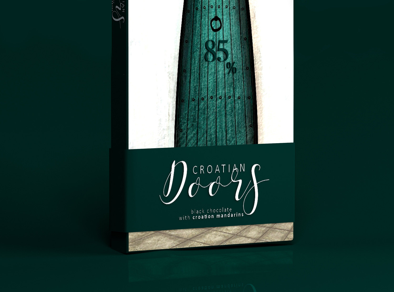 Agency Concept for Chocolate Moroccan Doors Collection Brand & Packaging / World Brand & Packaging Design Society