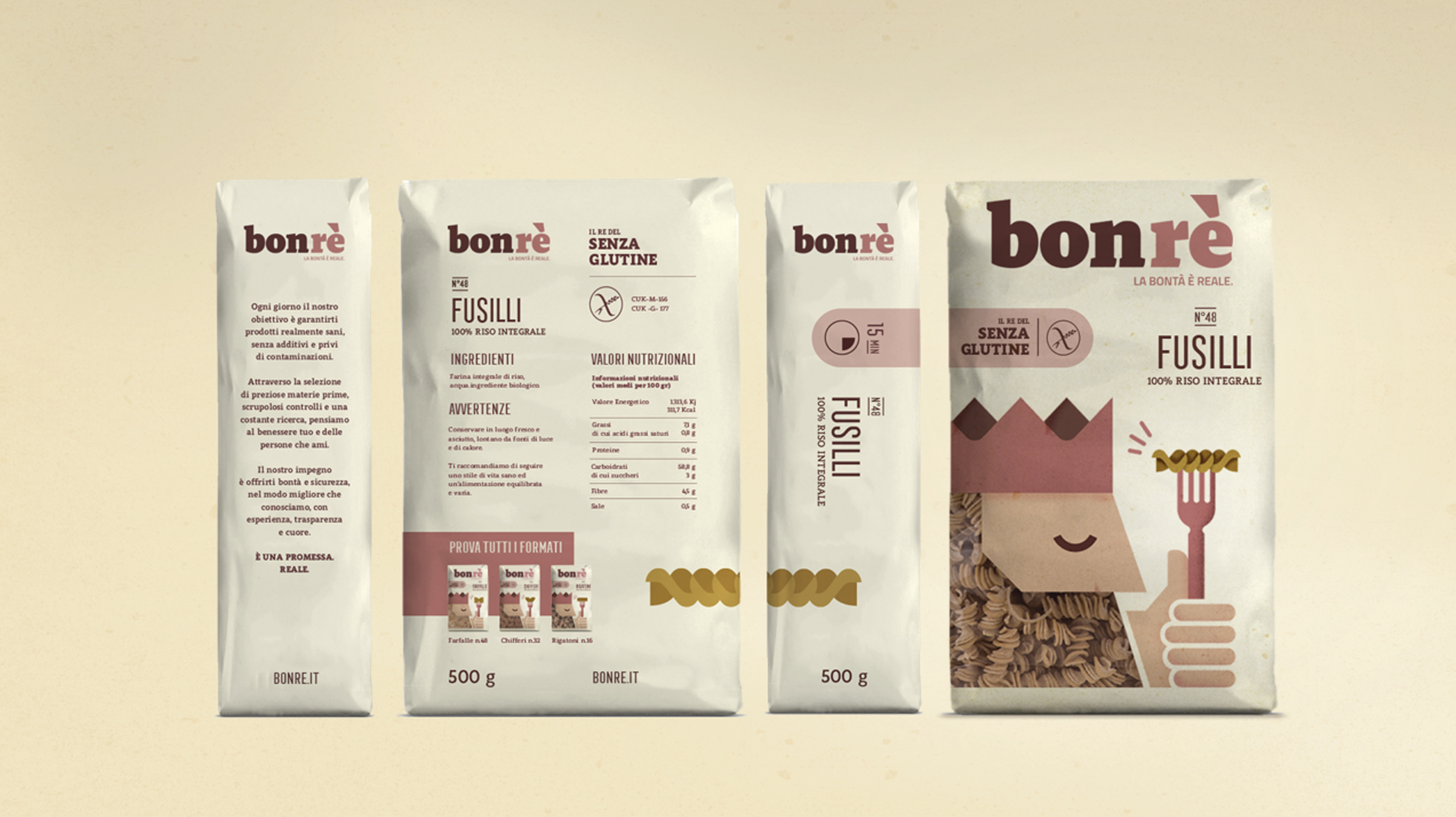 New Identity and Packaging Design for a Gluten-free Brand of Starchy Products / World Brand & Packaging Design Society