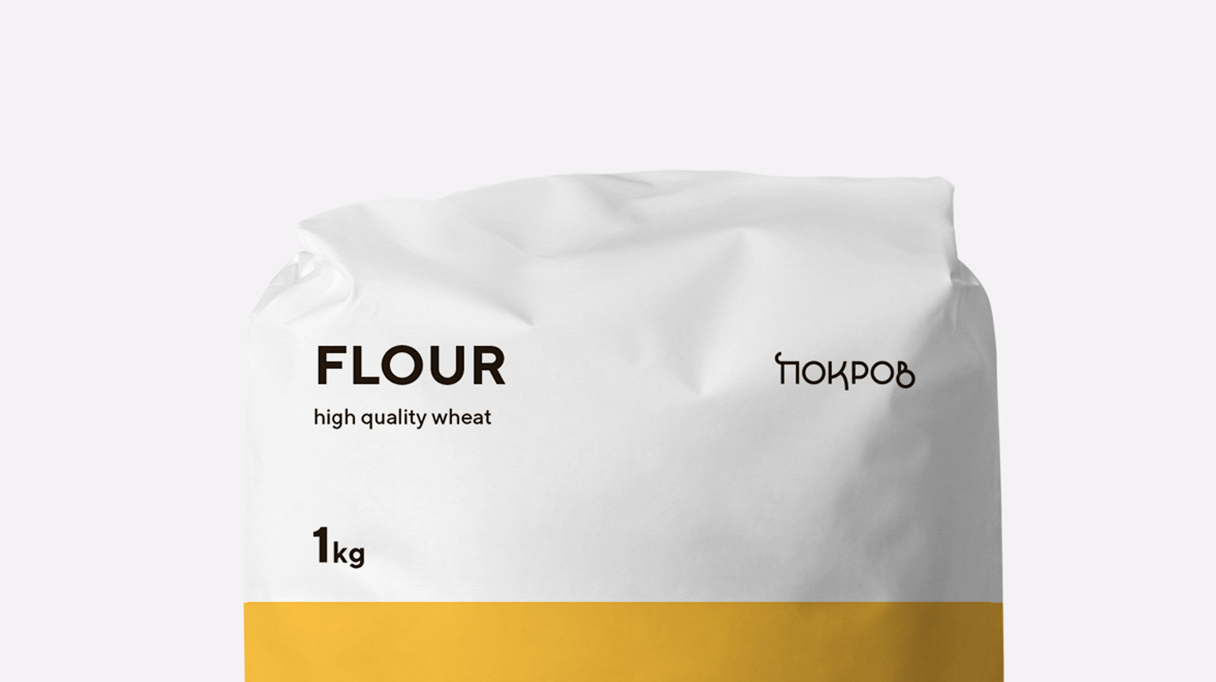 Traditionally Modern and Beautiful Ukrainian Flour Packaging Design / World Brand & Packaging Design Society