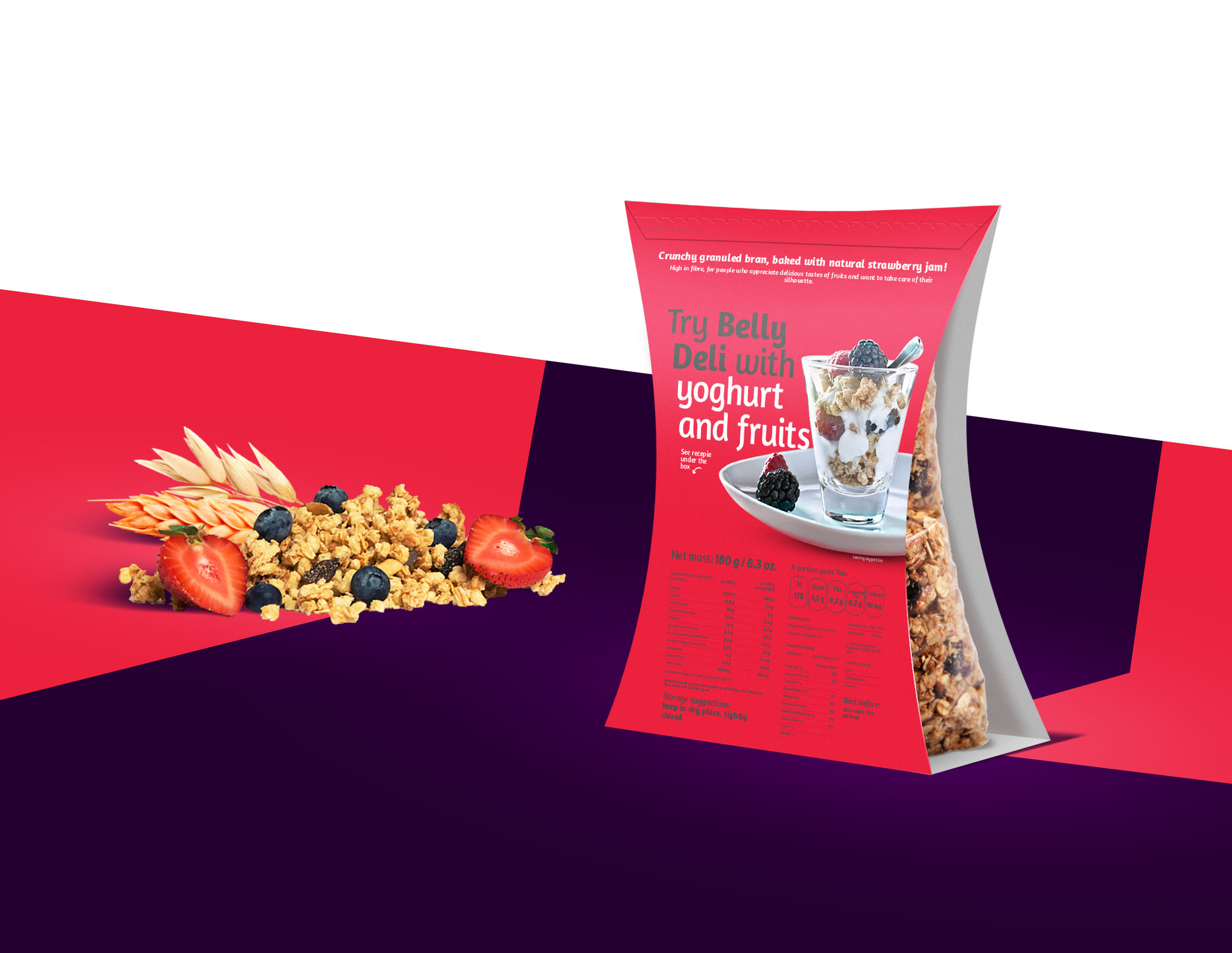 Agency Concept for Polish Major Healthy Food Export Product Line for English Speaking Markets / World Brand & Packaging Design Society