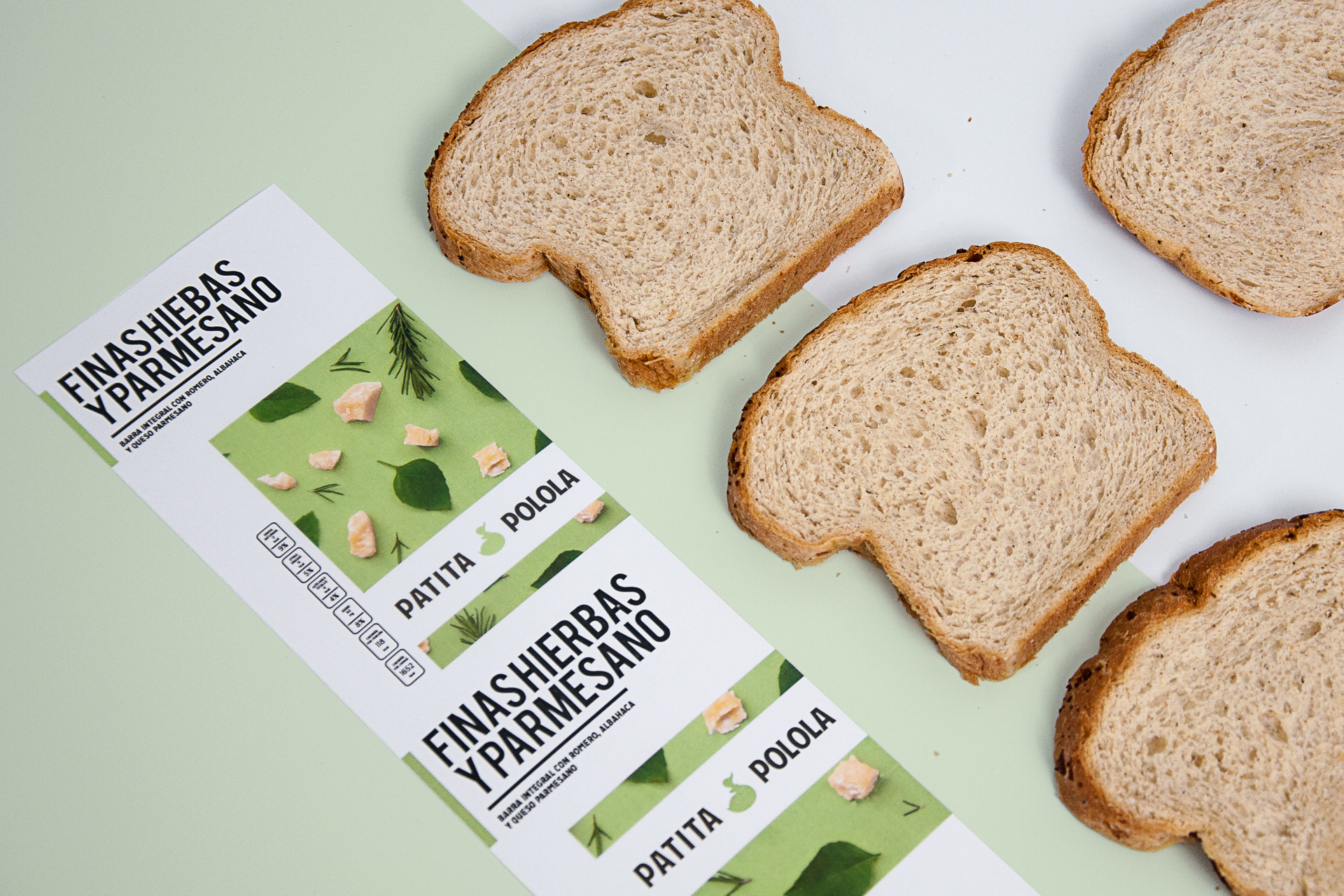 Minimal & Colourful New Packaging Design for Wholemeal Bread Company / World Brand & Packaging Design Society