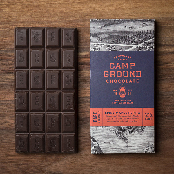 Hand-Made Chocolate Bar and Packaging Design Crafted for American Confectionary Brand  / World Brand & Packaging Design Society