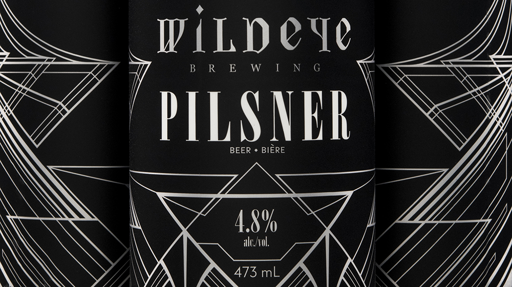 Brand Identity and Graphic Design for North Vancouver's Wildeye Brewing Company / World Brand & Packaging Design Society