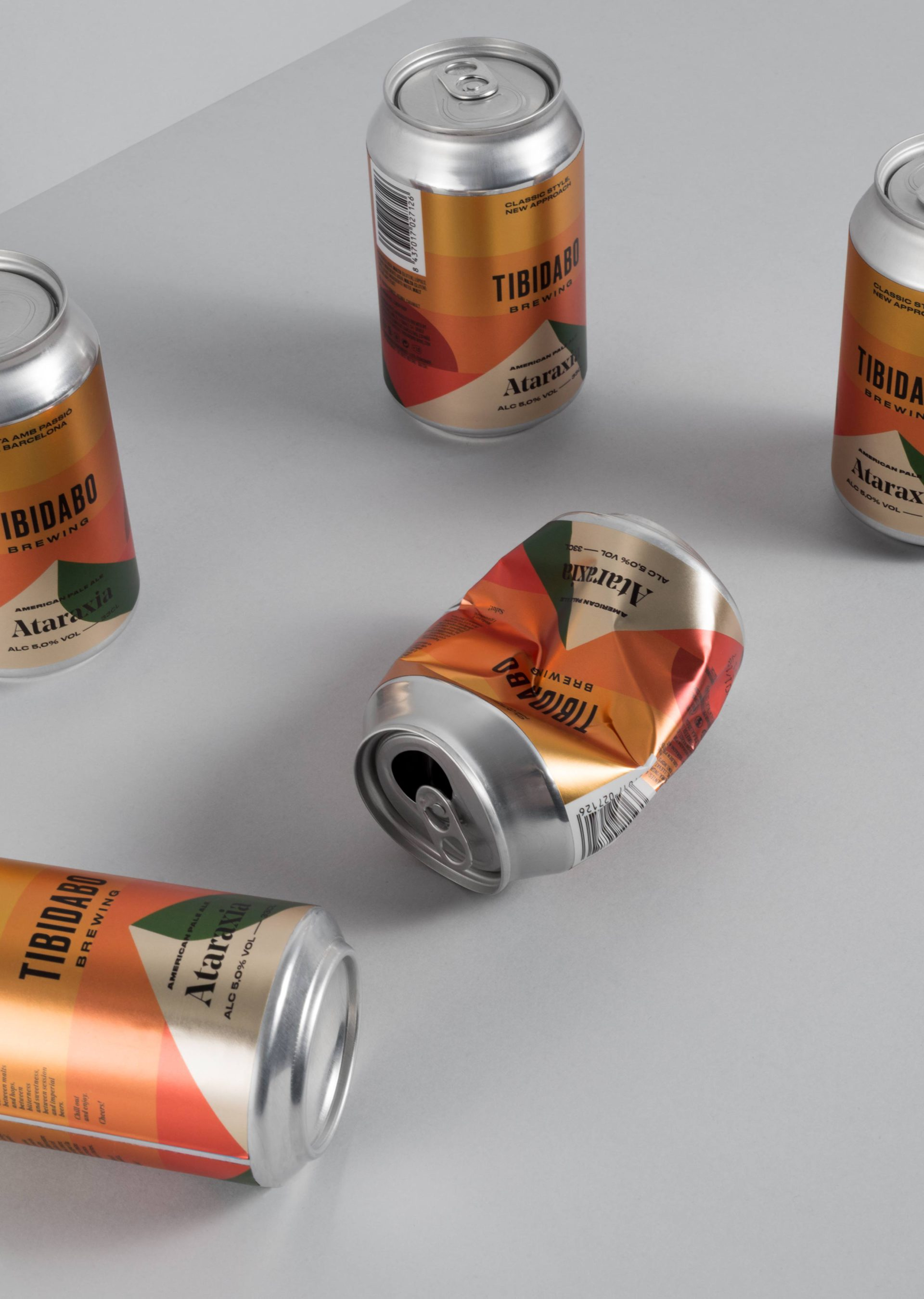 Creation of Fun, Premium and Distinctive Identity for a New Barcelona Beer Brand /World Brand & Packaging Design Society