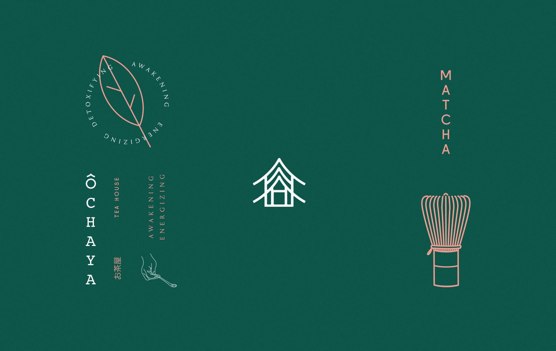 Brand and packaging design for Matcha Ochaya in Peru / World Brand & Packaging Design Society