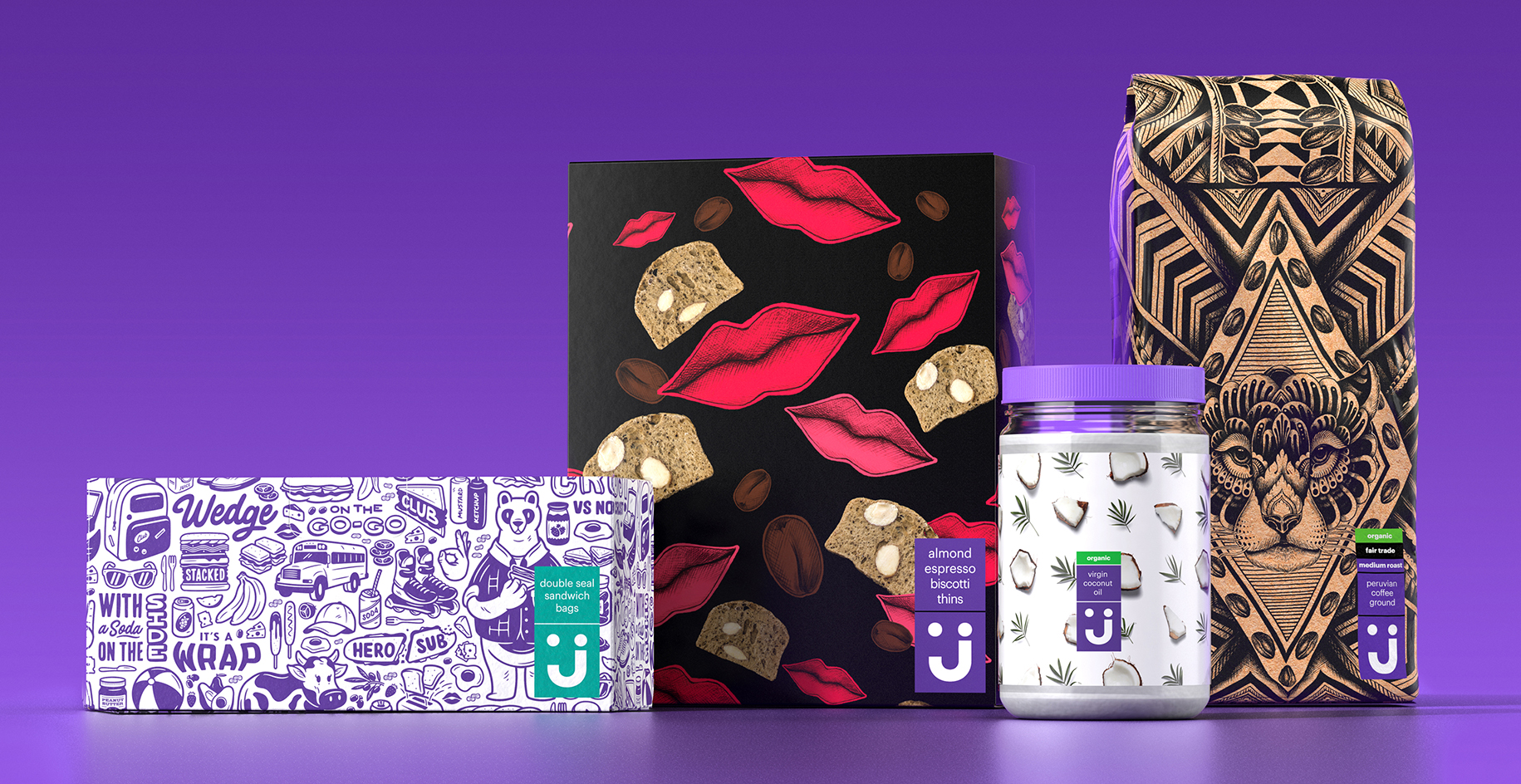 Brand Creation and Delight in a Digital World for Walmart-Owned E-tailer Jet.com / World Brand & Packaging Design Society