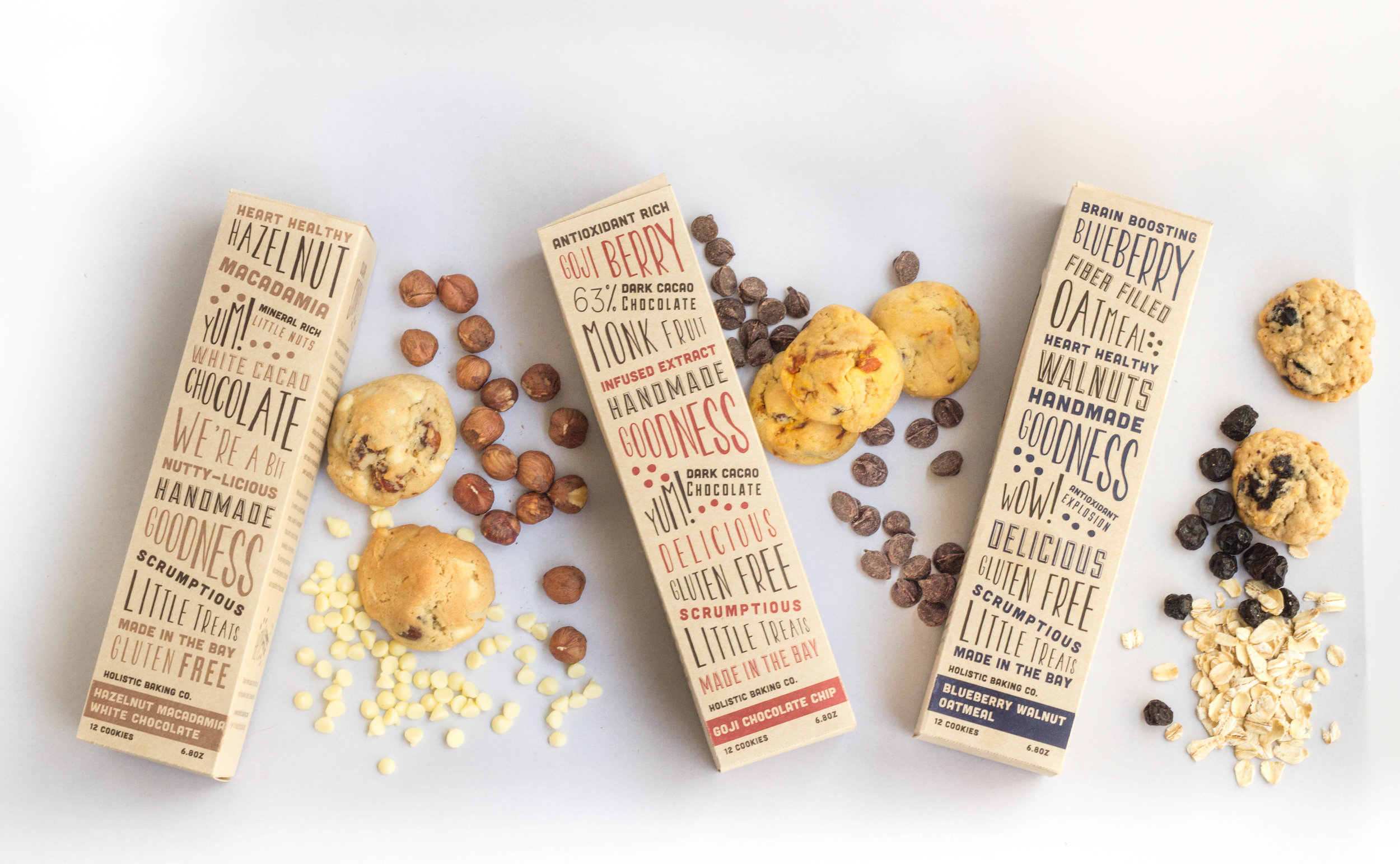 Concept Rustic Cookie Packaging with Bold, Playful Typography / World Brand & Packaging Design Society