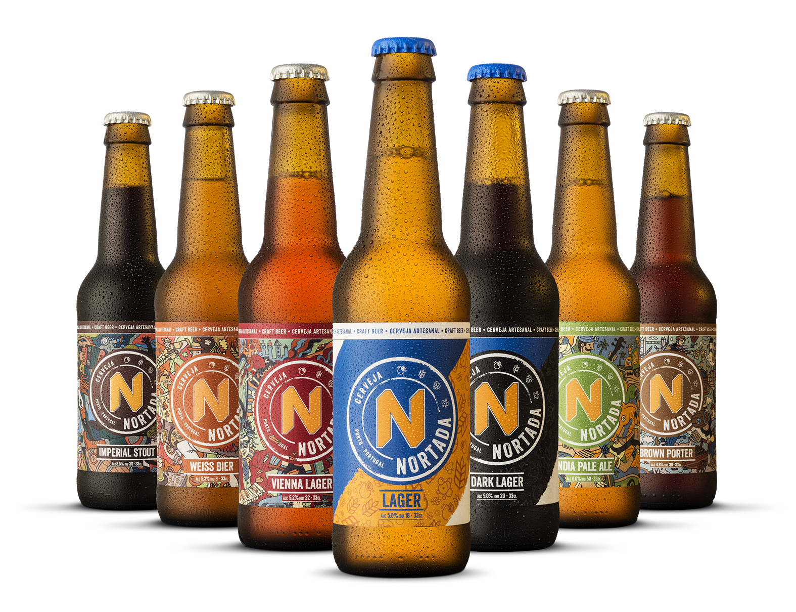 In-house Creative Design Team Rebranding a Portuguese Craft Beer / World Brand & Packaging Design Society