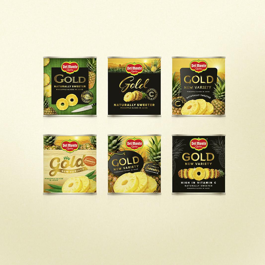 Brand Refinement for the Del Monte for African Markets / World Brand & Packaging Design Society