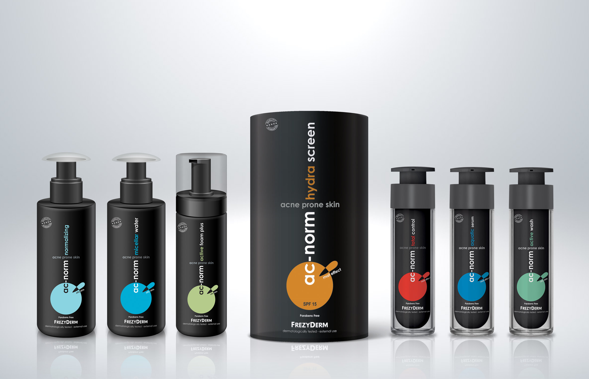 Pharmaceutical Acne Treatment Complete Product Range / World Brand & Packaging Design Society