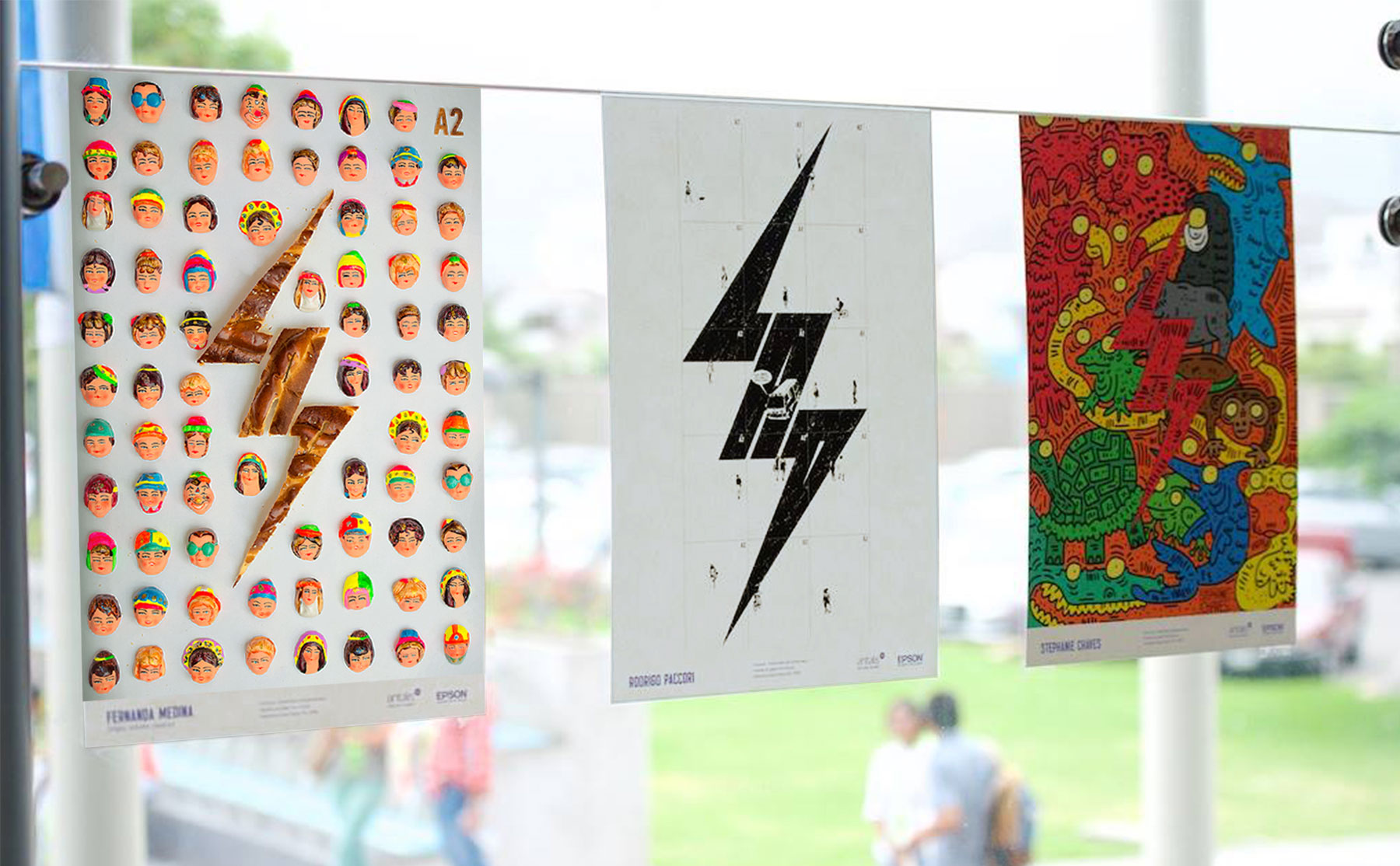 Winners of the Poster Design contest for LAD Fest / World Brand & Packaging Design Society