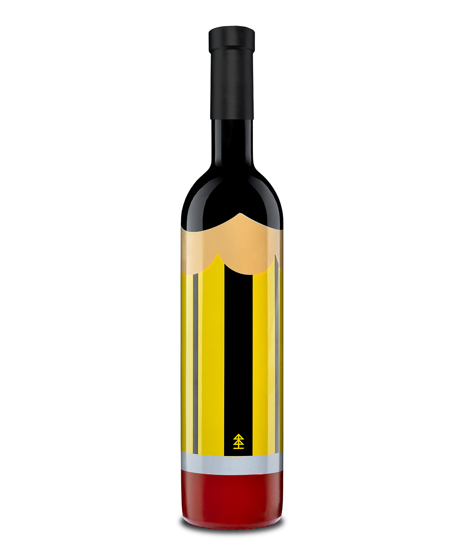 Pencil Metaphor Small Batch Artisan Wine / World Brand & Packaging Design Society