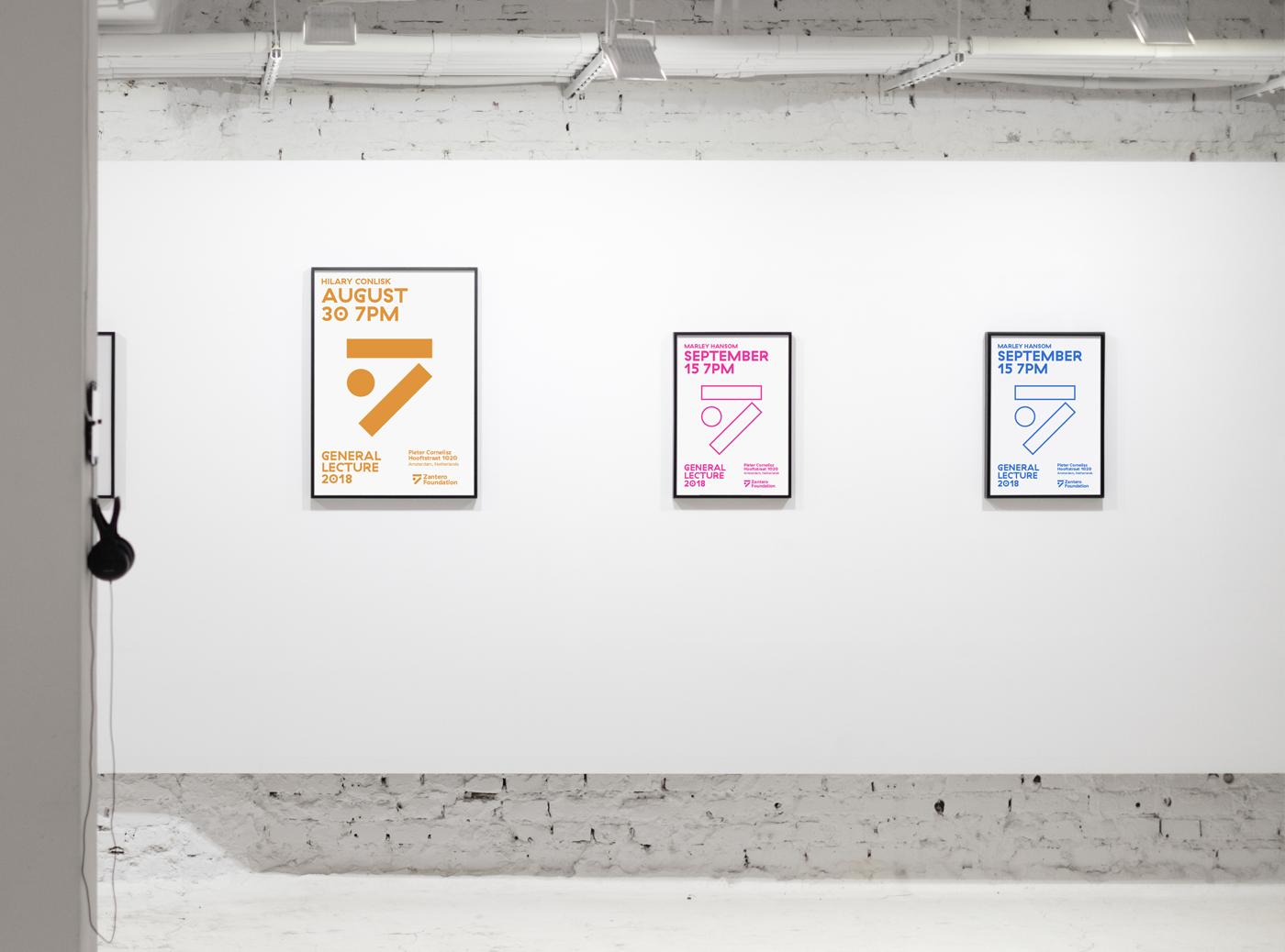 Corporate Branding for Zantero Foundation in Amsterdam / World Brand & Packaging Design Society
