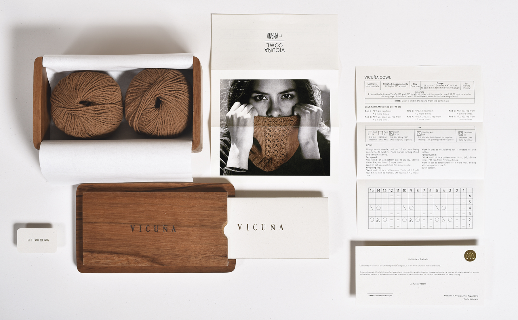 Peruvian Luxury and Natural Packaging Design for Fine Yarn Brand / World Brand & Packaging Design Society