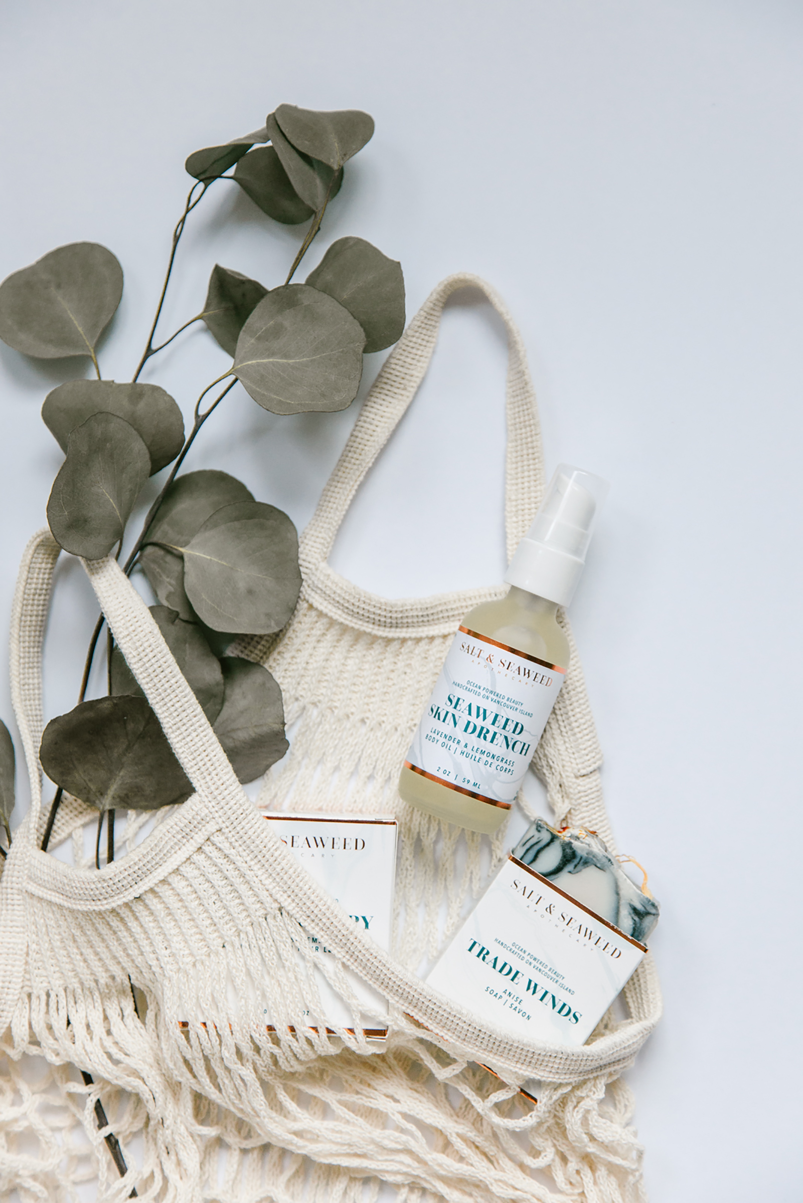 Luxury, Small Batch Bathing Rituals from Salt and Seaweed Apothecary