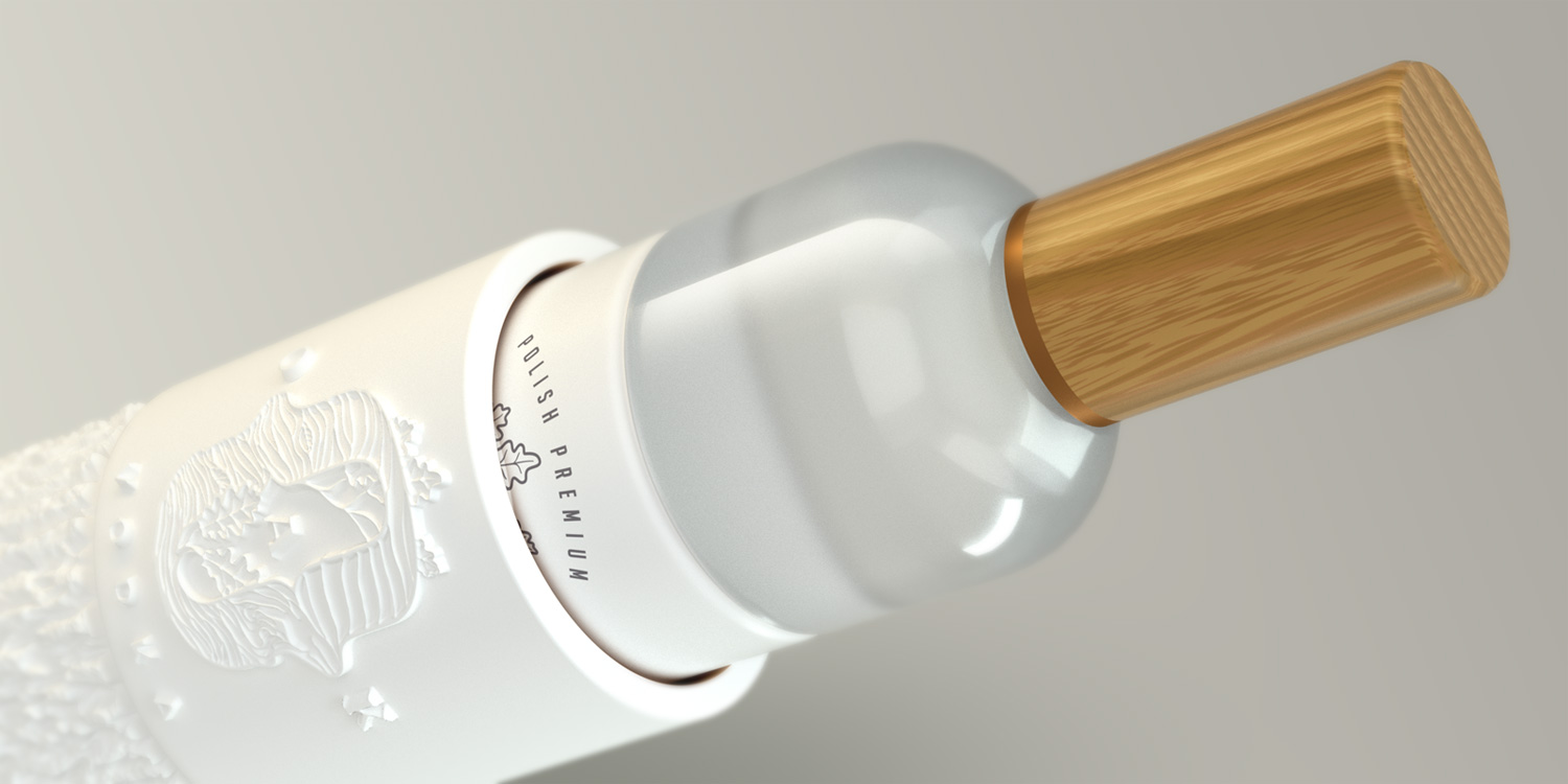 Traditional Values in a Sleek Form of Oak Vodka / World Brand & Packaging Design Society