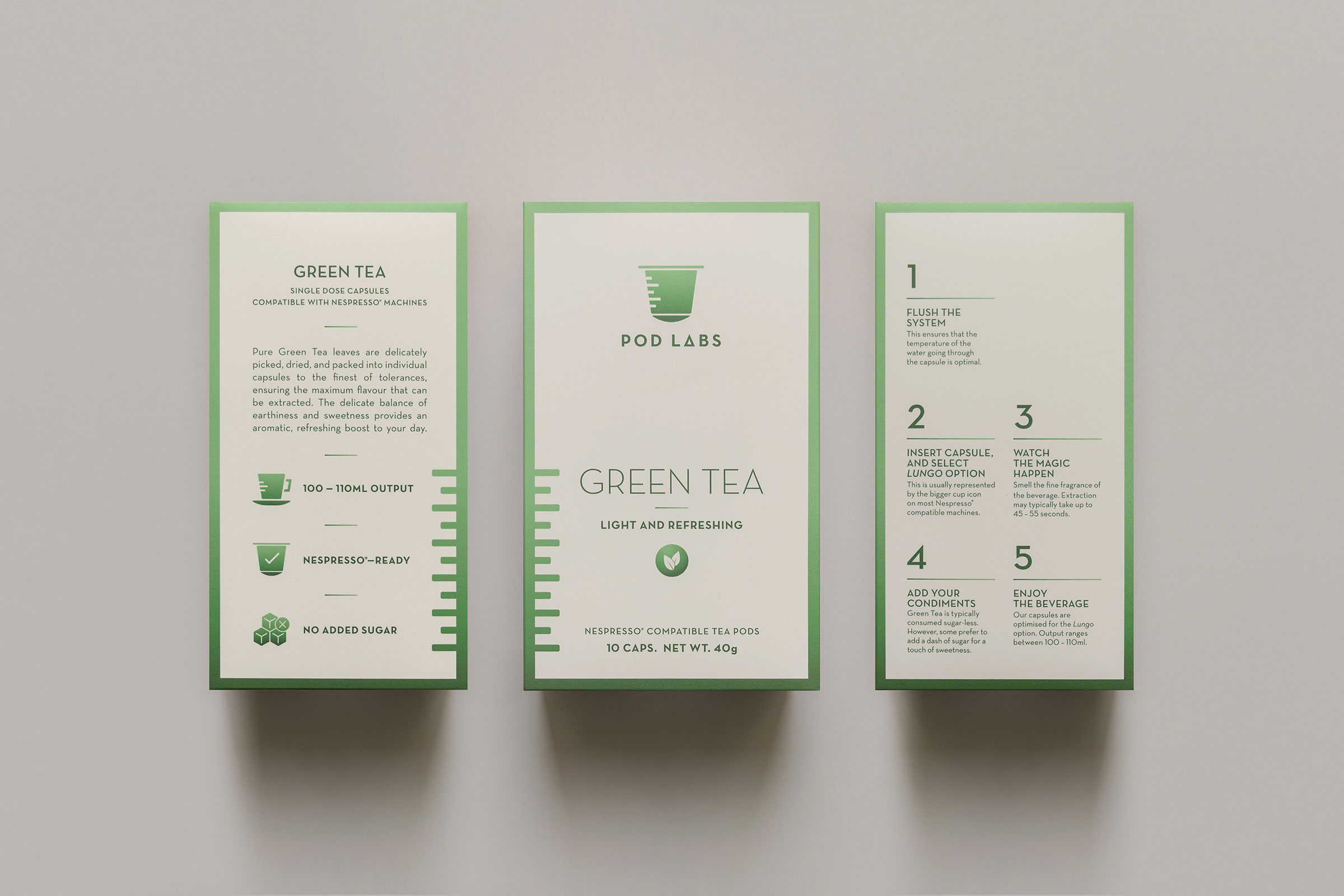 Packaging Design for Beverage Pods takes Inspiration from a Research Lab / World Brand & Packaging Design Society