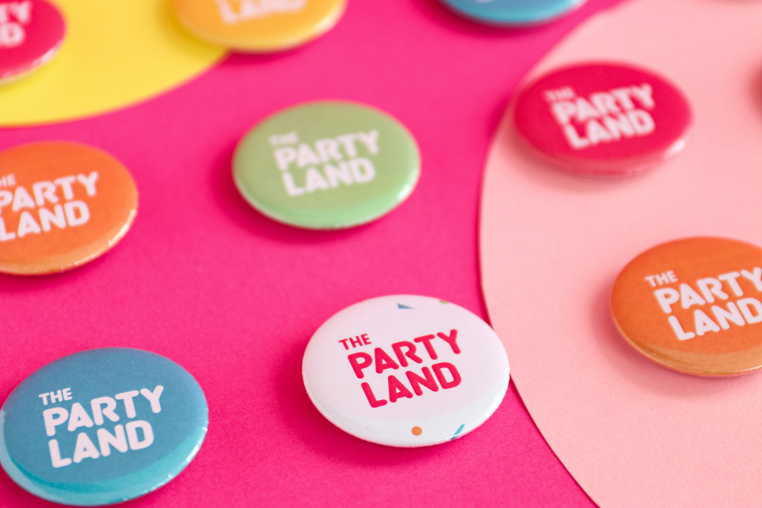 Fun and Playful Brand Identity Design for The Party Land in Saudi Arabia / World Brand & Packaging Design Society