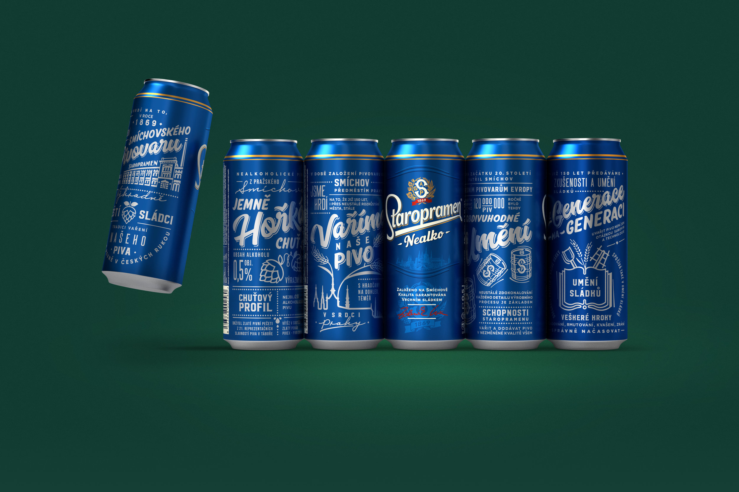 The Modern Redesign of one of Prague's Oldest Favourites / World Brand & Packaging Design Society
