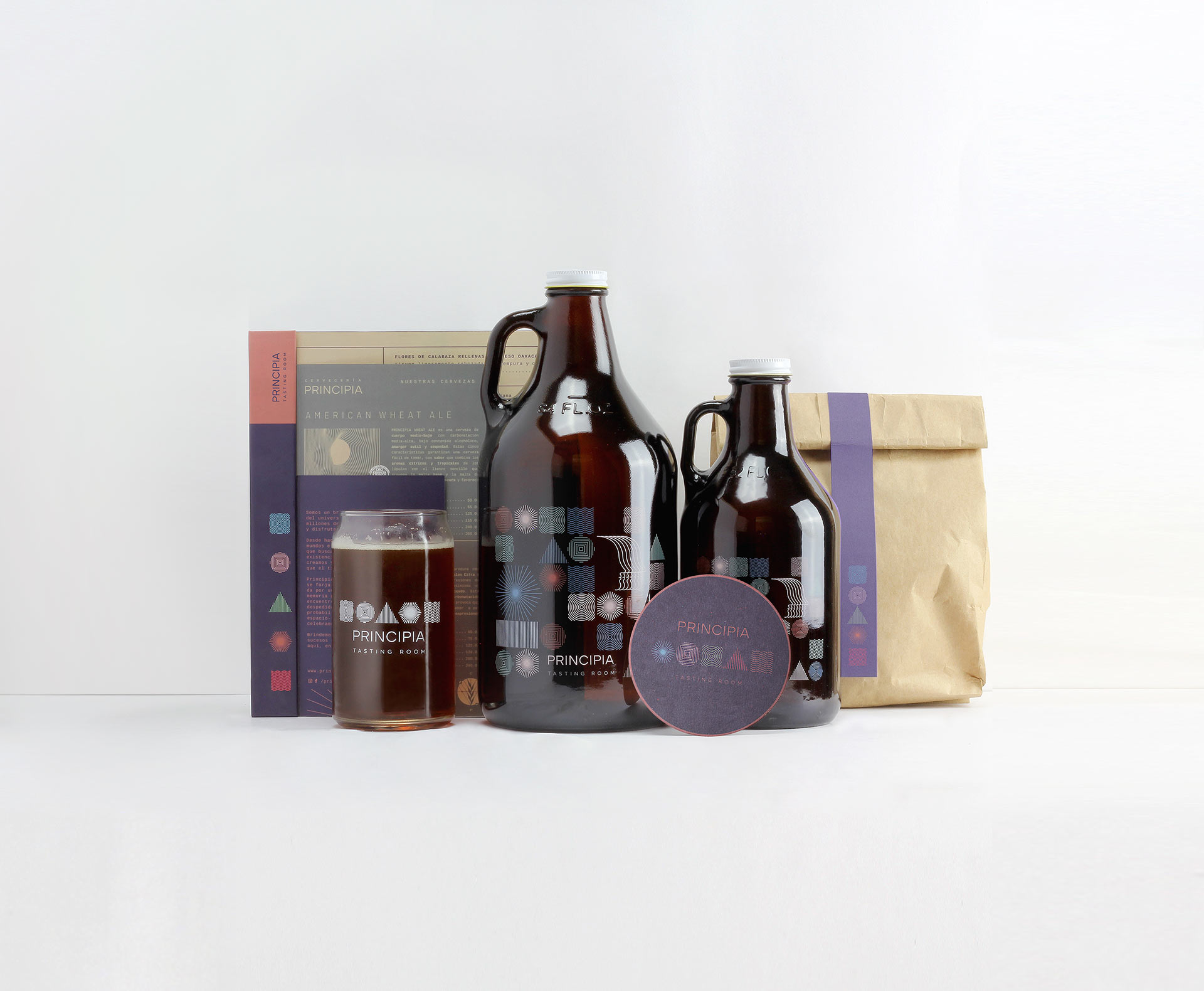 Brand and Packaging Design for Brewery Tasting Room in Mexico City / World Brand & Packaging Design Society