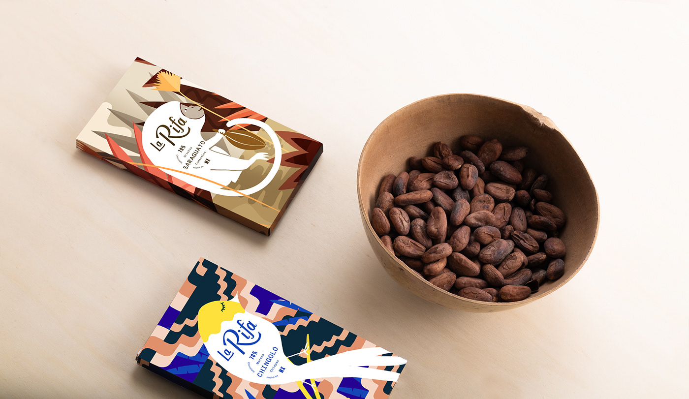 Mexican Origin Chocolate Expressing the Dense Jungle, Our Coexistence and an Ideal Ecosystem / World Brand & Packaging Design Society