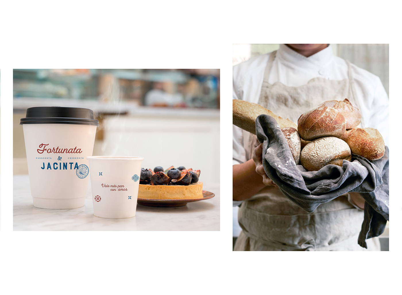 Branding and Packaging Design for Bakery and Churrería with a Brand Story of Two Sisters / World Brand & Packaging Design Society
