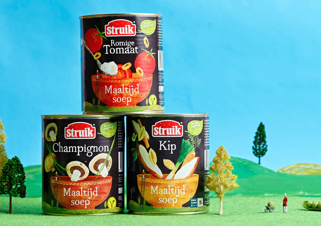 Mealsoup New Direction, Repositioning and Rebranding / World Brand & Packaging Design Society