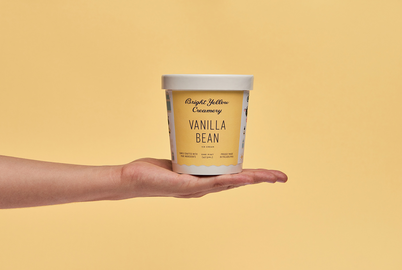 Delicious Ice Cream Branding Celebrating the Simple Pleasures of Life / World Brand & Packaging Design Society